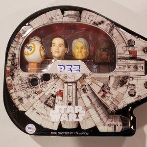 Star Wars Pez dispenser set, new in box